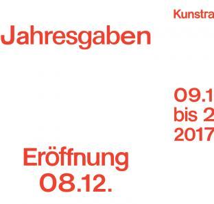 Kunstraum Jahresgaben 2017