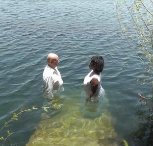 """Toffaha (Rasha Ragab und Christoph Nicolaus): """"Fische im Park"""""""
