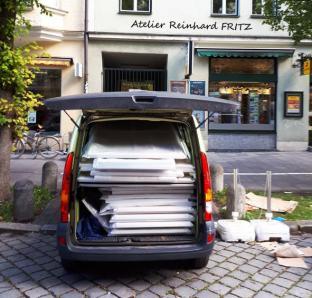 offenes Atelier Reinhard Fritz