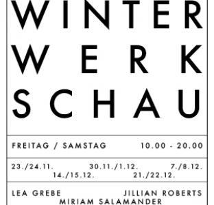 Winter Werk Schau