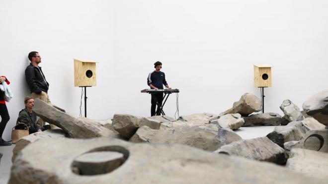 "© Franziska Pitsch + Kalas Liebfried, ""ambient for a silent forest"" in der Pinakothek der Moderne"