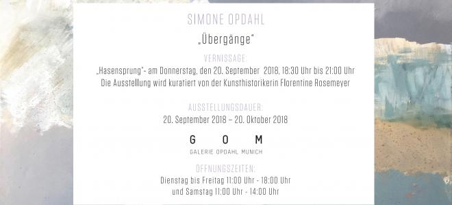 Simone Opdahl - Übergänge