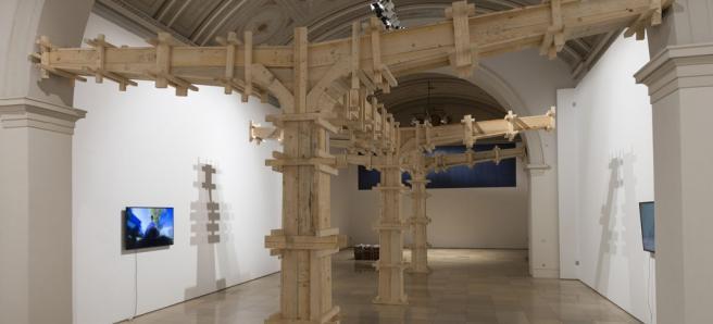 KILMUCSAR_Ausstellungsansicht_Installation von Max Balser