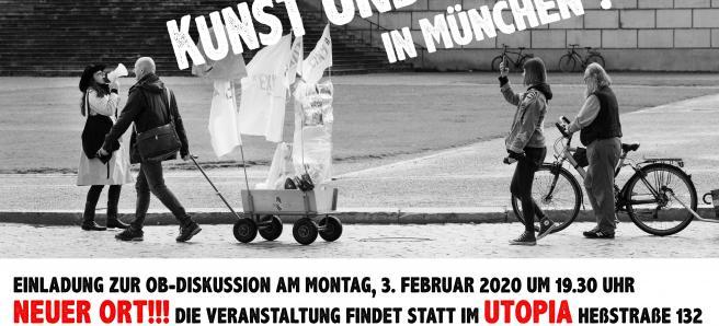 Was brauchen Kunst und Kultur in München?