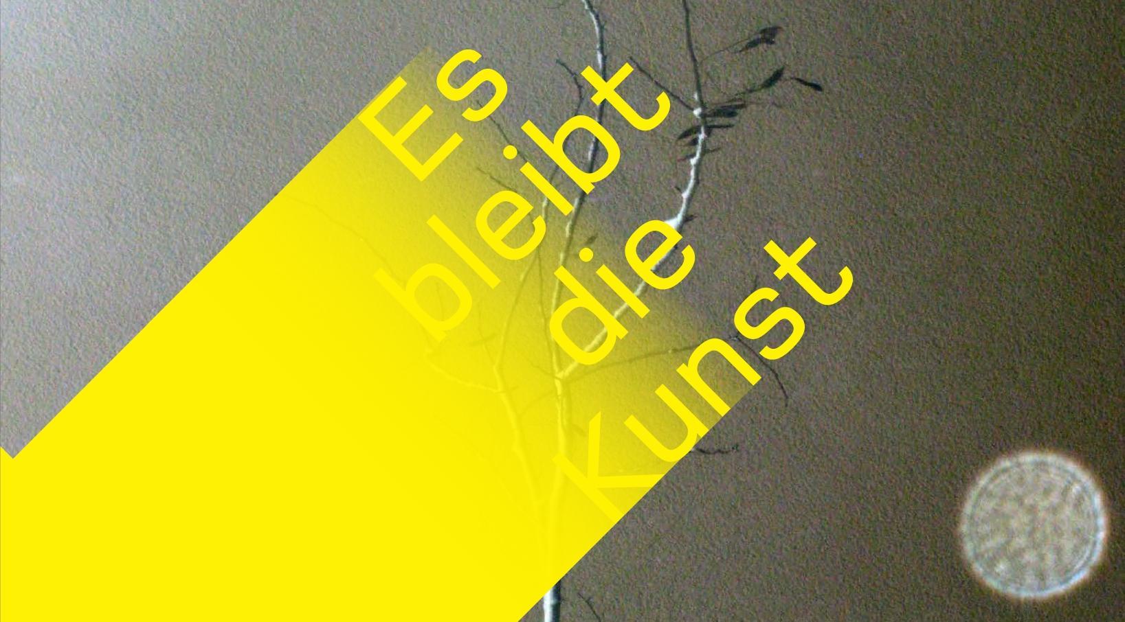 Es bleibt die Kunst - Symposium und Katalogpräsentation