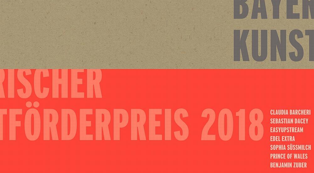 Bayerische Kunstförderpreise 2018