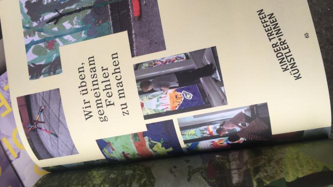 Kinder treffen Künstler*innen - Katalogpräsentation 2021